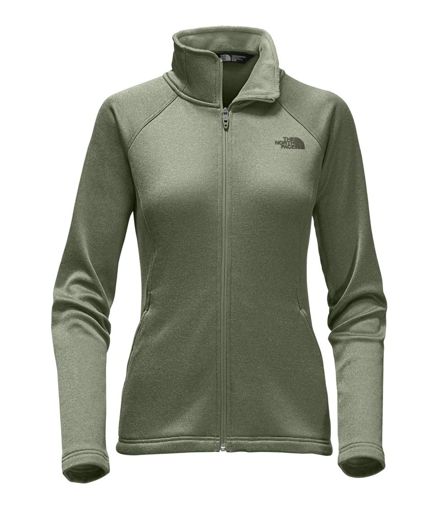 WOMEN-S-AGAVE-FULL-ZIP---COLOR--VERDE---TALLA--L