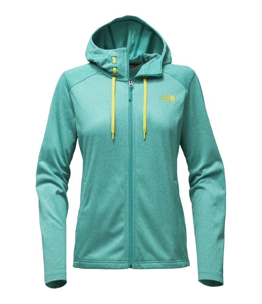 WOMEN-S-TECH-MEZZALUNA-HOODIE---COLOR--VERDE---TALLA--L