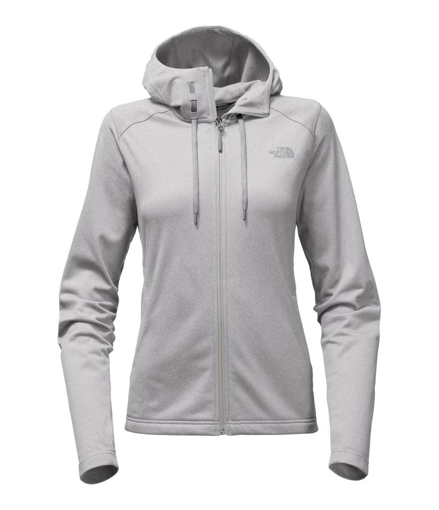 WOMEN-S-TECH-MEZZALUNA-HOODIE---COLOR--GRIS---TALLA--L
