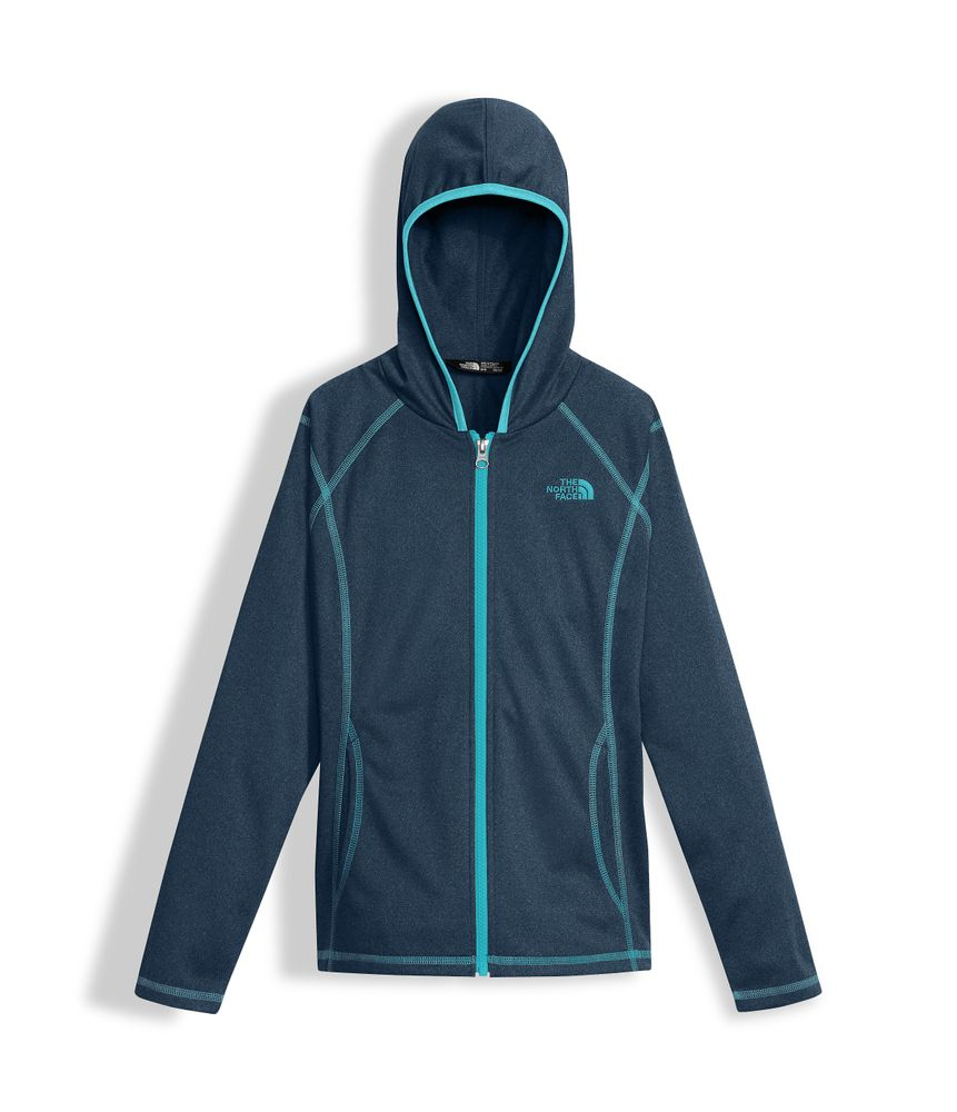 GIRLS--TECH-GLACIER-FULL-ZIP-HOODIE---COLOR--AZUL---TALLA--M