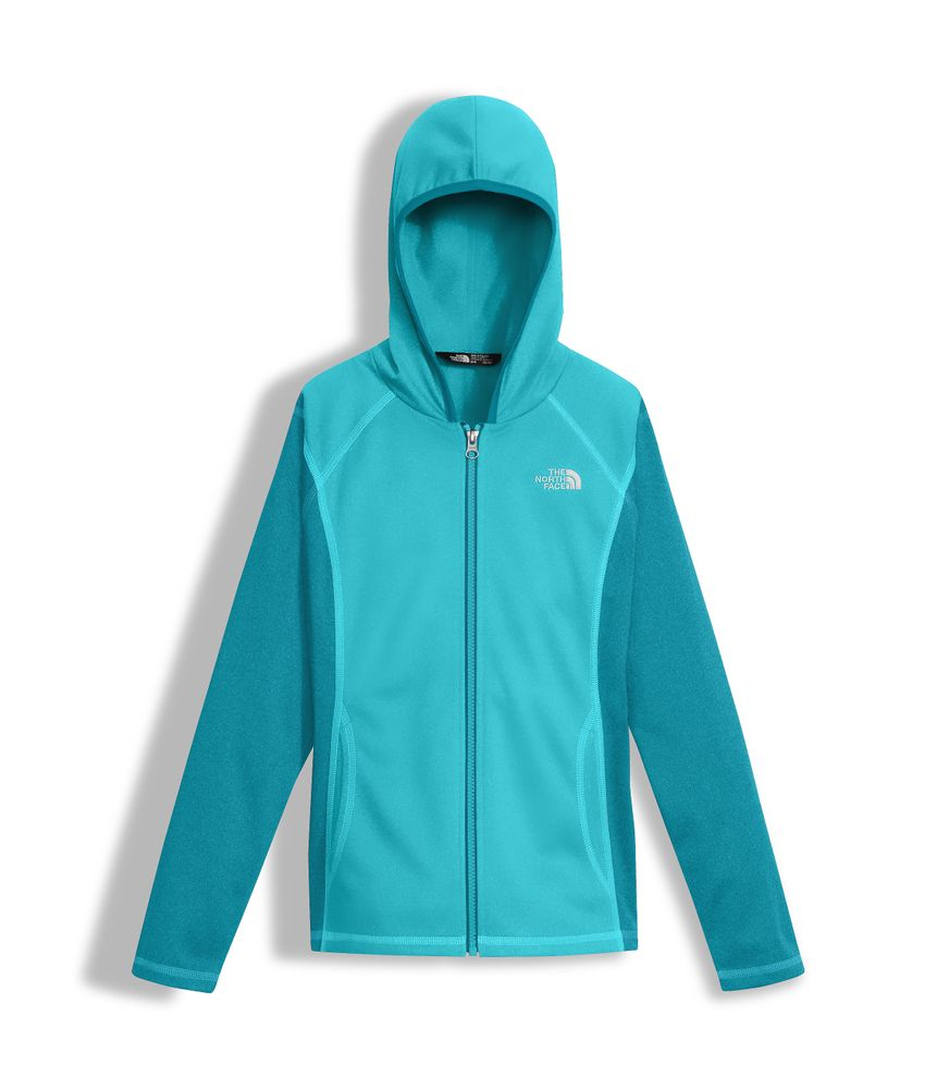 GIRLS--TECH-GLACIER-FULL-ZIP-HOODIE---COLOR--AZUL---TALLA--L