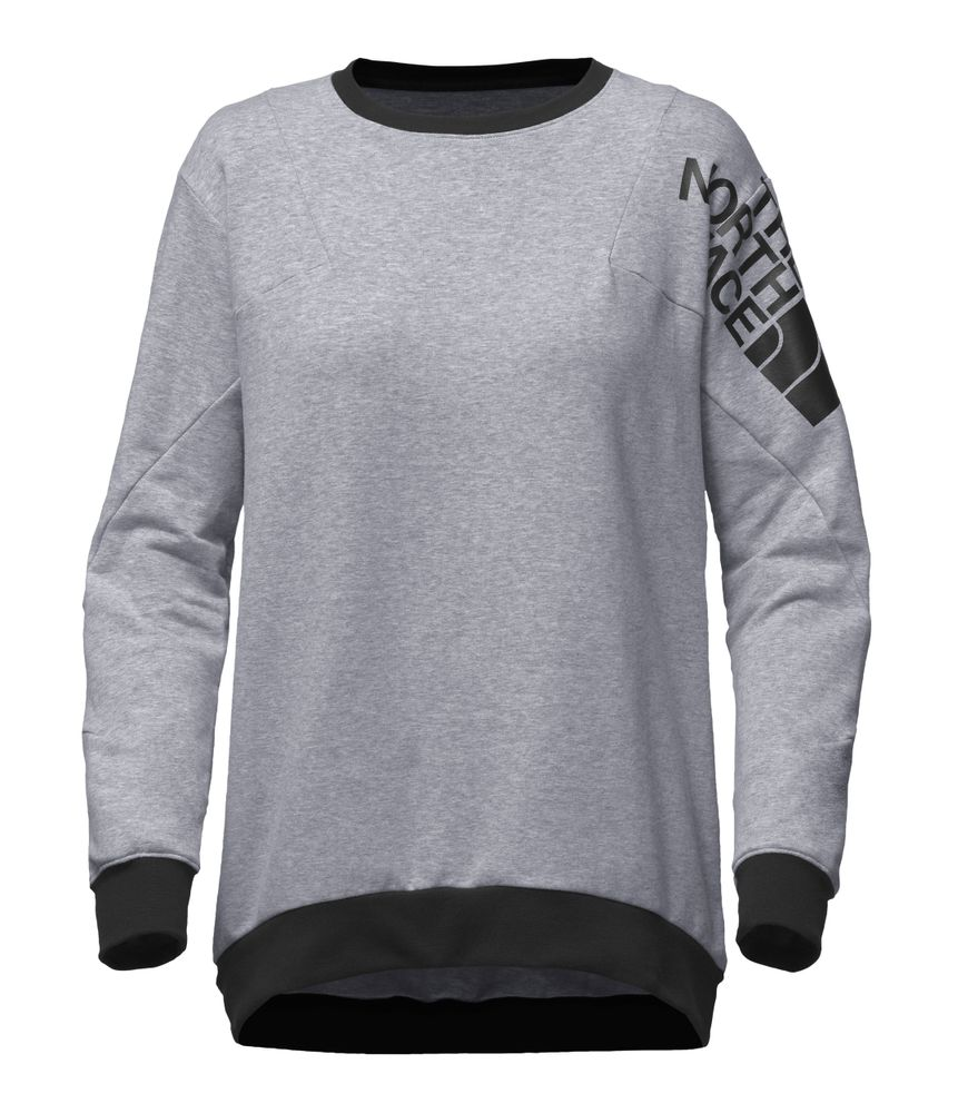 WOMEN-S-TRAIN-N-LOGO-PULLOVER---COLOR--GRIS---TALLA--L