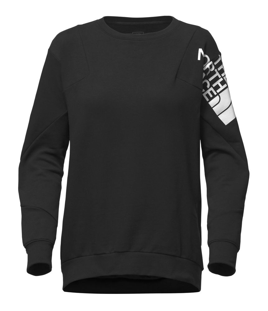 WOMEN-S-TRAIN-N-LOGO-PULLOVER---COLOR--NEGRO---TALLA--L