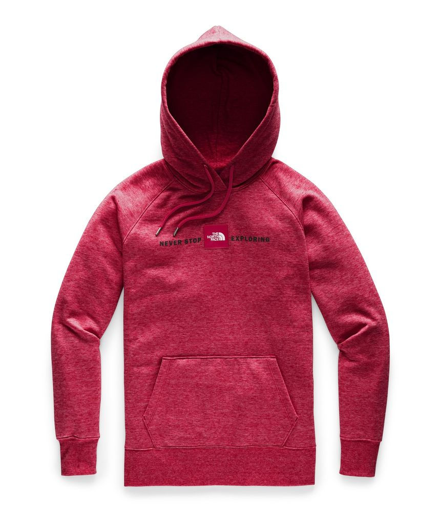 WOMEN-S-RED-S-PULLOVER-HOODIE