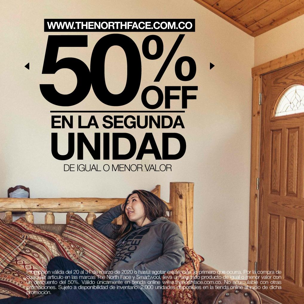50% OFF 2da unidad Marzo 2020
